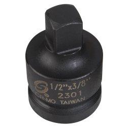 SOCKET IMPACT ADAPTER 1/2IN. FEMALE 3/8IN. - 1/2 Male Impact Socket Adapter