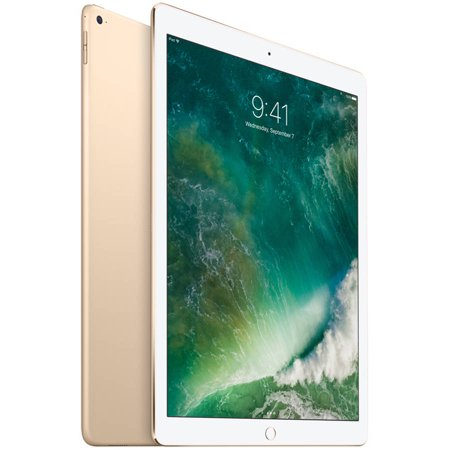 Refurbished Apple Ipad Pro With Wifi 12 9   Touchscreen Tablet Computer Featuring Ios 9 Operating System  Gold
