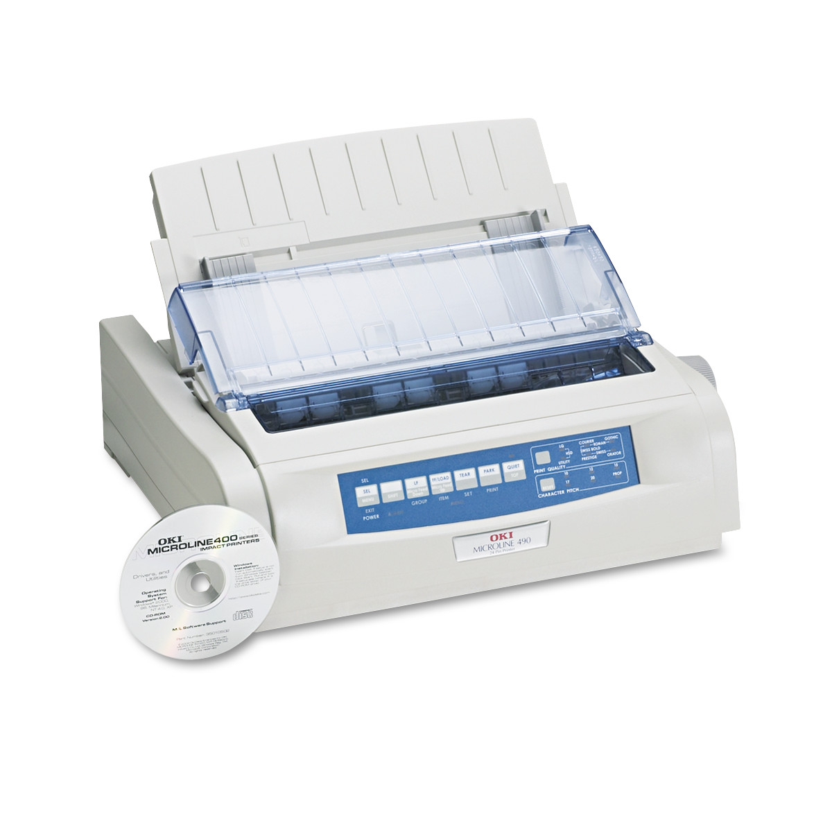 Oki Microline 490 24-Pin Dot Matrix Printer