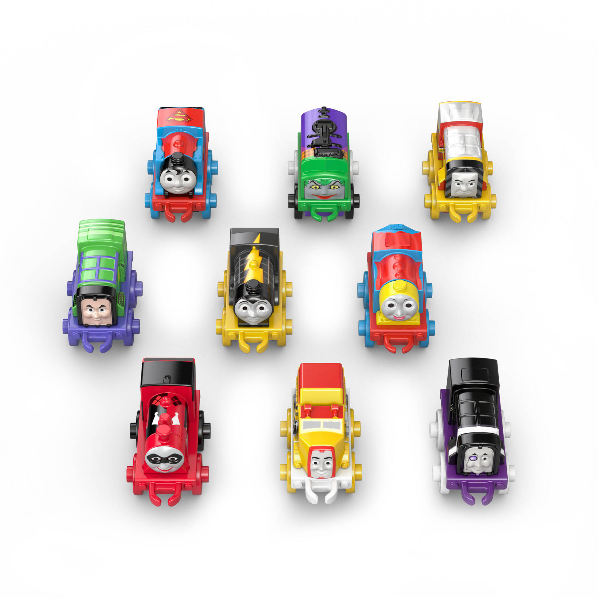Fisher-Price Thomas The Train DC Super Friends Character #1, 9pk