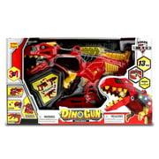 Interchangeable Toys Mozlly Dino Gun Space Battle 3 in 1 Tyrannosaurus (13pc Set)