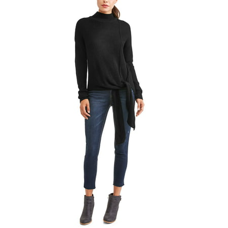 Women's Side Tie Sweater