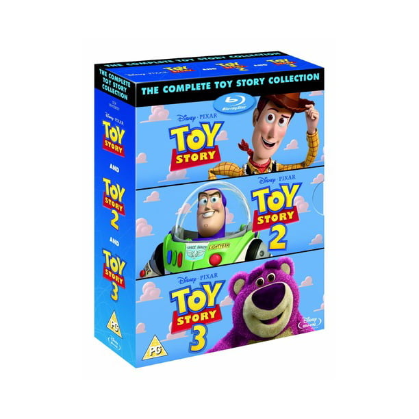 The Complete Toy Story Collection (Blu-ray)
