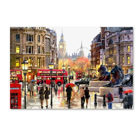 History Landscape Art - Trademark Fine Art 'London Landscape' Canvas Art by The Macneil Studio