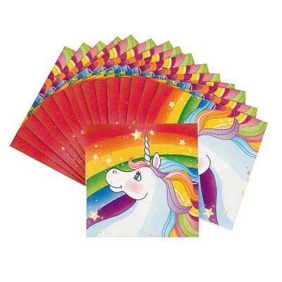 IN-70/7742 Unicorn Beverage Napkins 16 Piece(s) 4PK