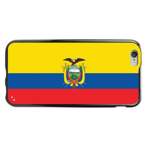 Cellet TPU/PC Proguard Case with Ecuador Flag for Apple iPhone 6