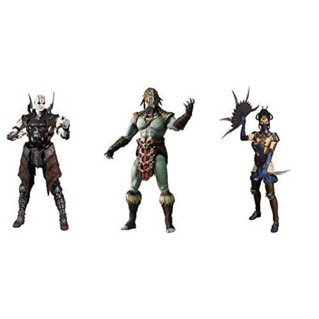 Mortal Kombat X Series 2 Quan Chi, Kotal Kahn, Kitana 6Inch Action Figures  Set of 3