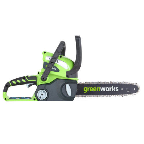 Greenworks 20292 40V G-MAX Cordless Lithium-Ion 12 in. Chainsaw (Bare Tool) by Generic