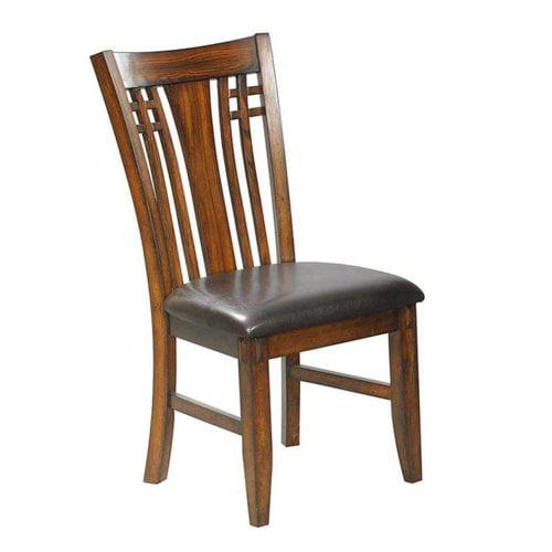 Winners Only DZH450S Zahara Slat Back Side Chair (Set of 2)