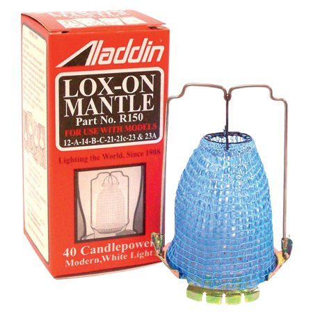 Aladdin Lamps R-150 Replacement Lox-on Gas Light Mantle (01p Oem Replacement Lamp)