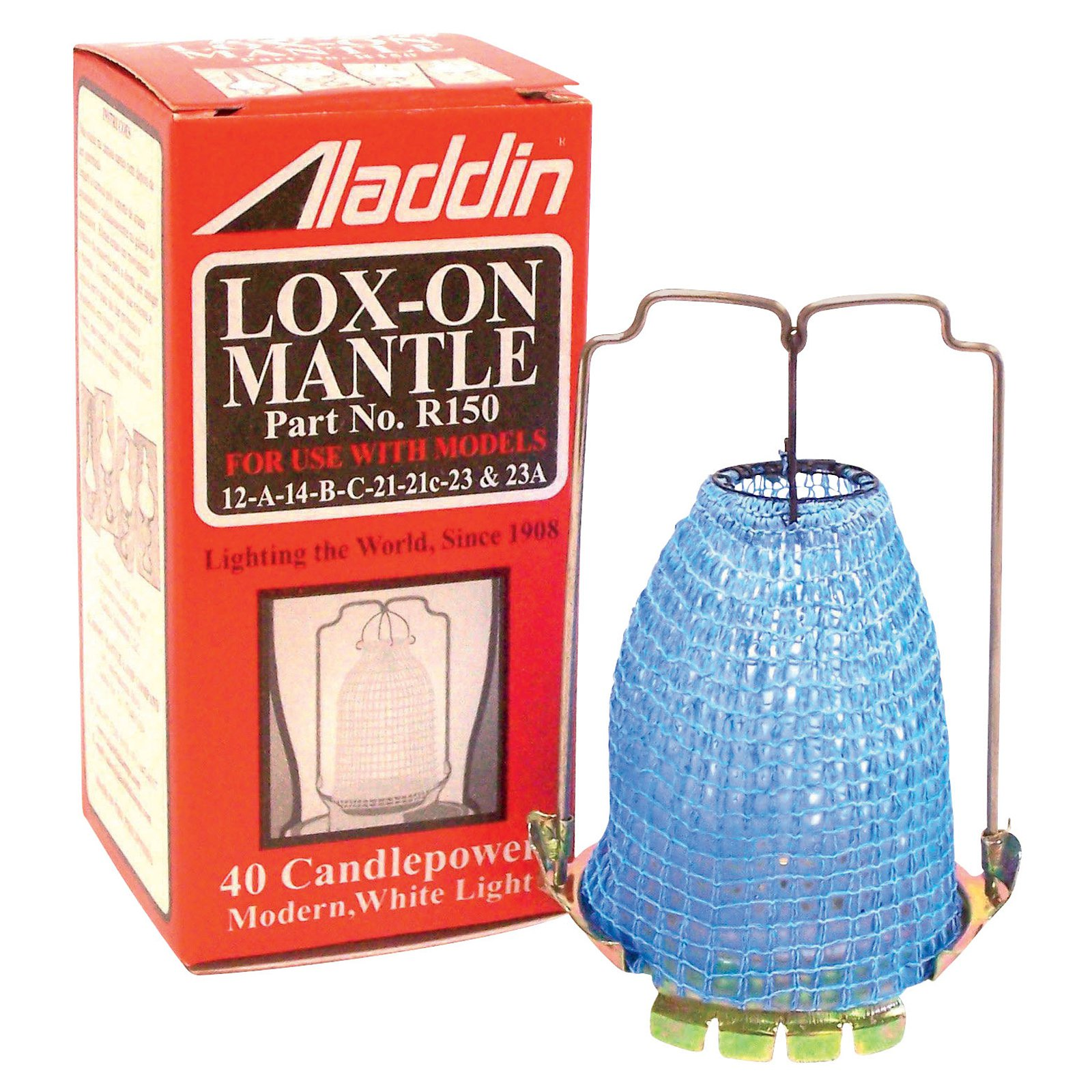 Aladdin Lamps R-150 Replacement Lox-on Gas Light Mantle