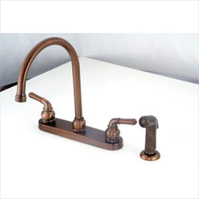 AMER BRASS OB801GSORB 8 In. Bronze Kitchen Faucet