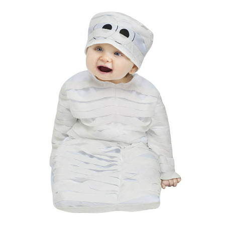Halloween Mummy Hair (Baby Mummy Bunting Halloween Costume Size Up to 9)