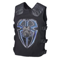 "Official WWE Authentic Roman Reigns ""Big Dog Unleashed"" Replica Vest Multi"