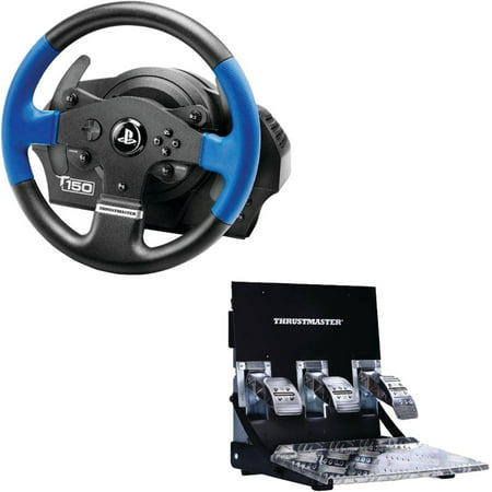 Thrustmaster 4169084 T150 Pro Racing Wheel with T3PA Pedal Set