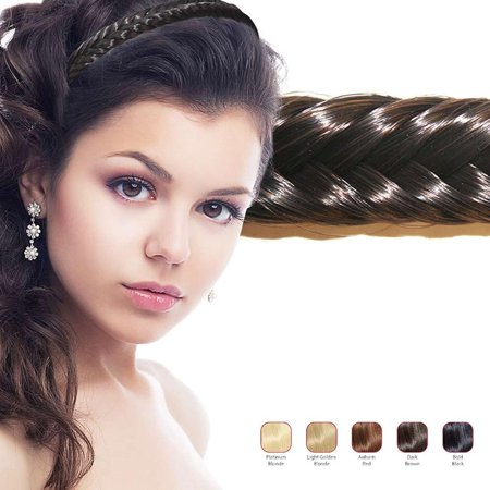 Hollywood Hair Fish Tail Braid Headband (Braided Hair Headband)