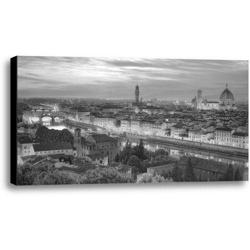 Ashton Wall D cor LLC Florence Jewel of the Renaissance by Rod Chase Photographic Print on Wrapped Canvas