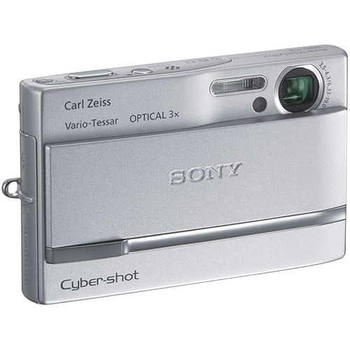Sony Cybershot DSC-T9 6MP Digital Camera with 3x Optical ...