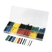 Unique Bargains 280 Pcs 8 Sizes 5 Colors Assortment Kit 2:1 Heat Shrink Tube Sleeving Wrap Wire