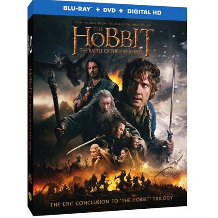 The Hobbit The Battle Of The Five Armies (Blu-ray + DVD + Digital