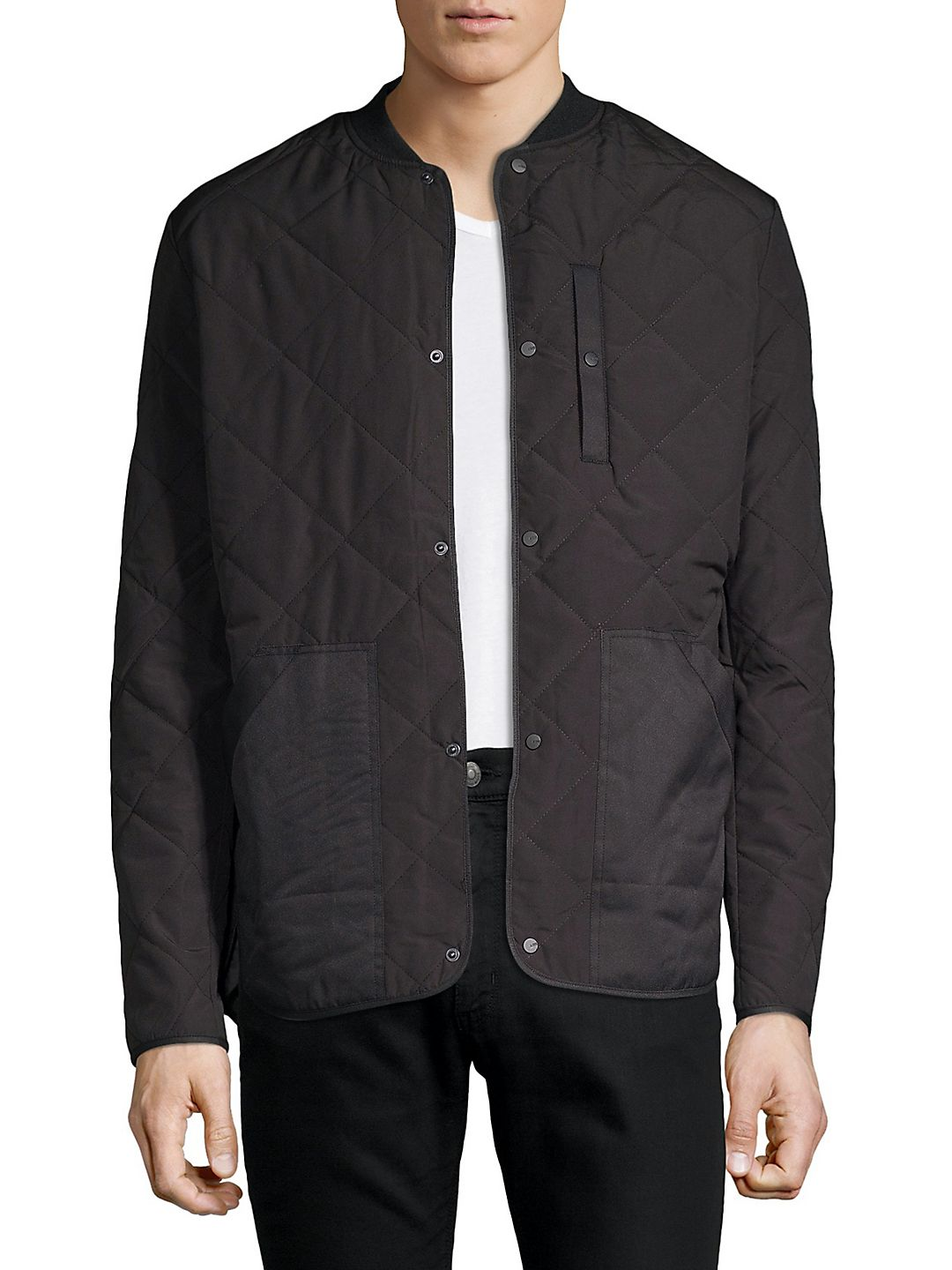 Quilted Snap Jacket