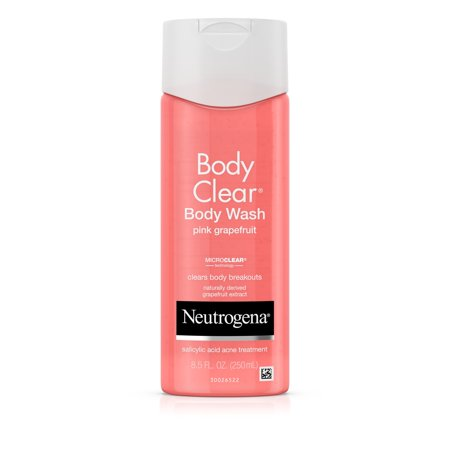 Neutrogena Body Clear Pink Grapefruit Acne Body Wash, 8.5 fl.