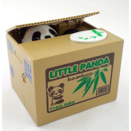 Hidden Bank - Secret Hidden Panda Bank Paw Grabs The Coin