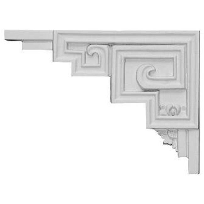 9 In. W X 6.5 In. H X .5 In. D Architectural Austin Stair Bracket, Left - image 1 of 1