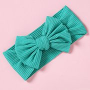 Spftem Baby Girl Newborn Infant Toddler Solid Hairbands And Bows Child Hair Accessories