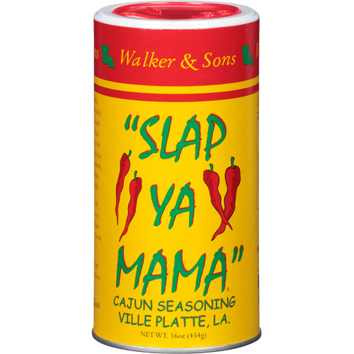 Slap Ya Mama Cajun Seasoning, 16 oz, (Pack of 12)