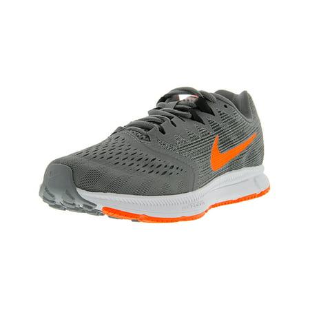 2e929e563ba Nike - Nike Men s Zoom Span 2 Gunsmoke   Total Crimson - Black Ankle ...
