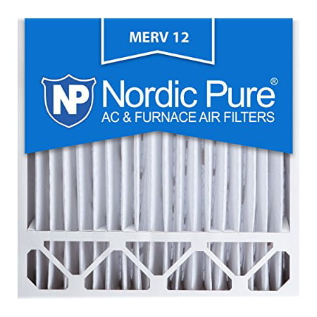- Nordic Pure 20x20x5HM12-1 Honeywell Replacement MERV 12 Pleated Furnace Air Filter, Box of 1