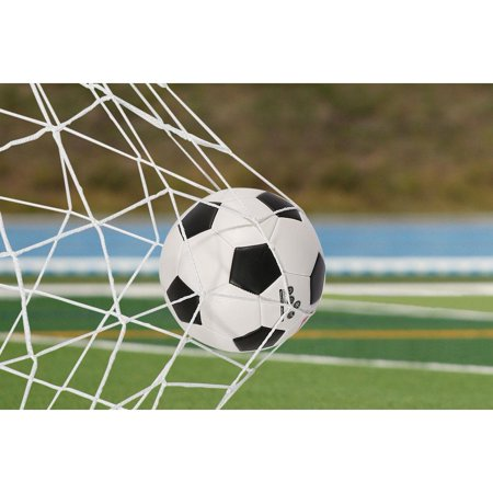 Full Size Football Soccer Net Sports Replacement Soccer Goal Post Net for Sports Match Training,Soccer Net, Soccer Post Net - Blow Up Football Goal