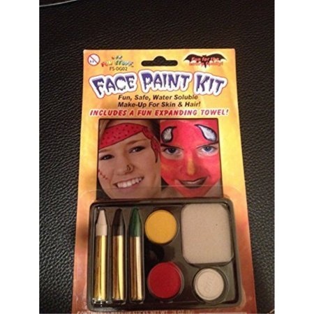 Our Fun Stuff Face Painting Kit (Party Halloween) - Easy Halloween Face Painting Ideas For Adults