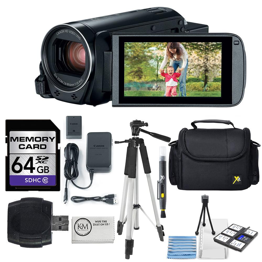 K&M Canon VIXIA HF R82 Full HD Camcorder + 64GB Memory Ca...