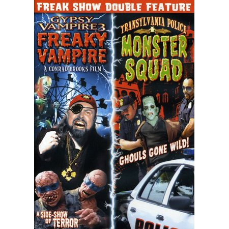 Gypsy Vampire 3: Freaky Vampire / Transylvania Police: Monster Squad (DVD) - Vampire Queen Monster High