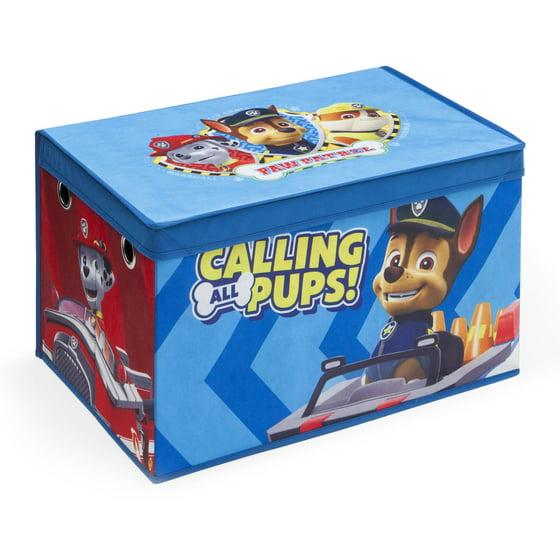 Walmart Toy Chests For Boys : Nick jr paw patrol fabric toy box walmart