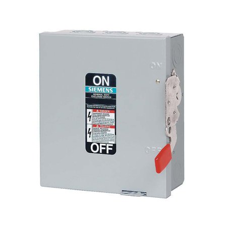 - Siemens Series GF Fusible General Duty Safety Disconnect Switch