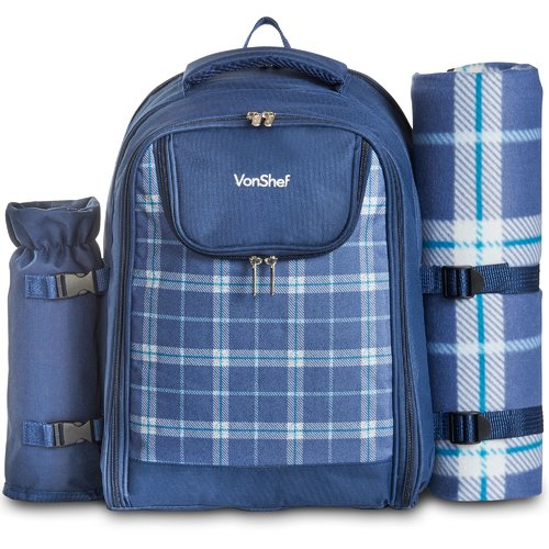 VonShef Outdoor Picnic Backpack