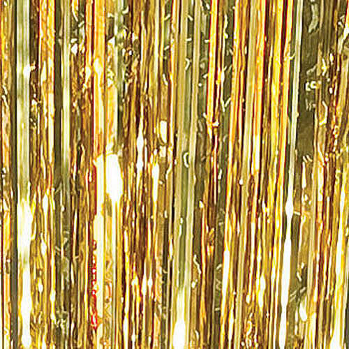 Foil Curtain, Gold