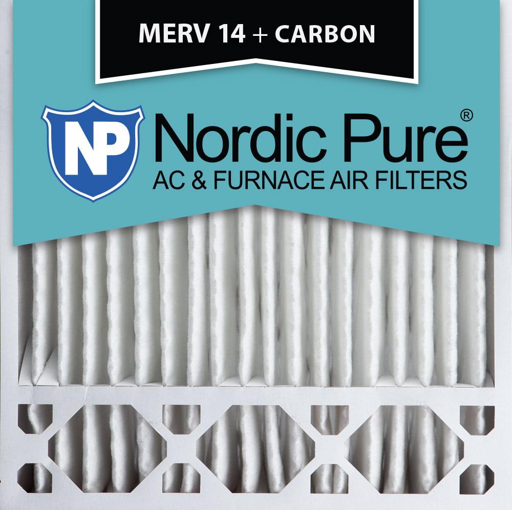 Nordic 20x20x5 Honeywell Replacement MERV 14 Plus Carbon ...