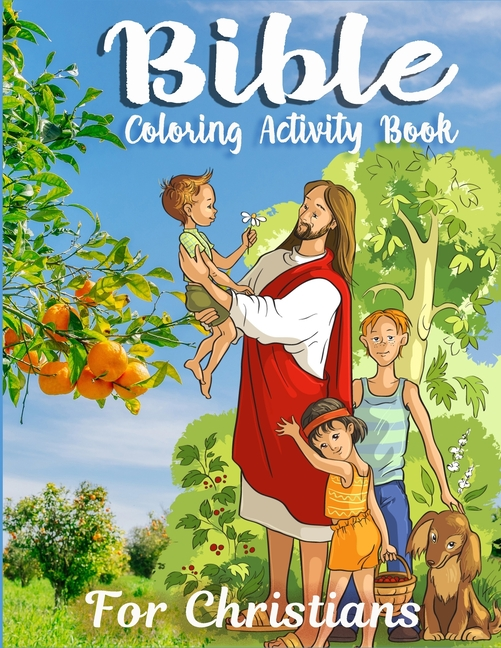 - Bible Coloring Activity Book For Christians : A Color By Number Activity  Book Of Bible Stories Inspired Coloring Pages With Bible Verses To Help  Learn About It. (Paperback) - Walmart.com - Walmart.com