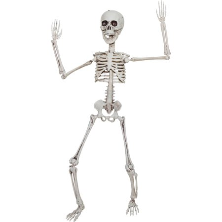 Poseable Skeleton 20in Halloween Decoration](Halloween Outdoor Decorations)
