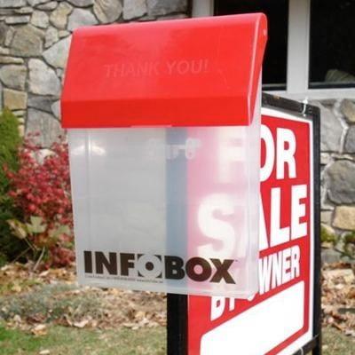 INFOBOX Outdoor Literature Holder