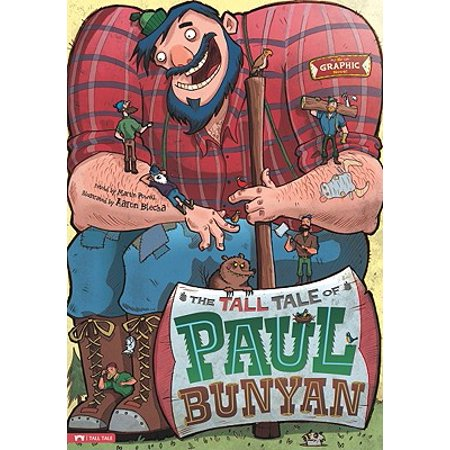 The Tall Tale of Paul Bunyan : The Graphic Novel](Bryan Cranston Aaron Paul Halloween)