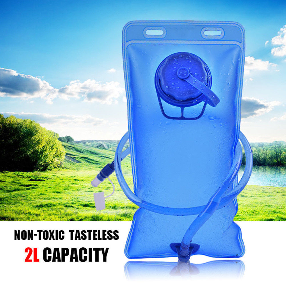 2L Water Bladder for Hydration System Backpack Bag for Camping Hiking Cycling