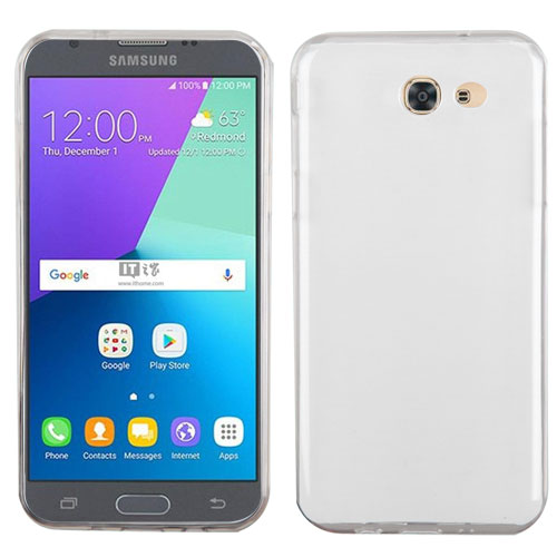 For Samsung Galaxy J3 Emerge/J3 Glossy Protective Slim Candy Skin Cover Case