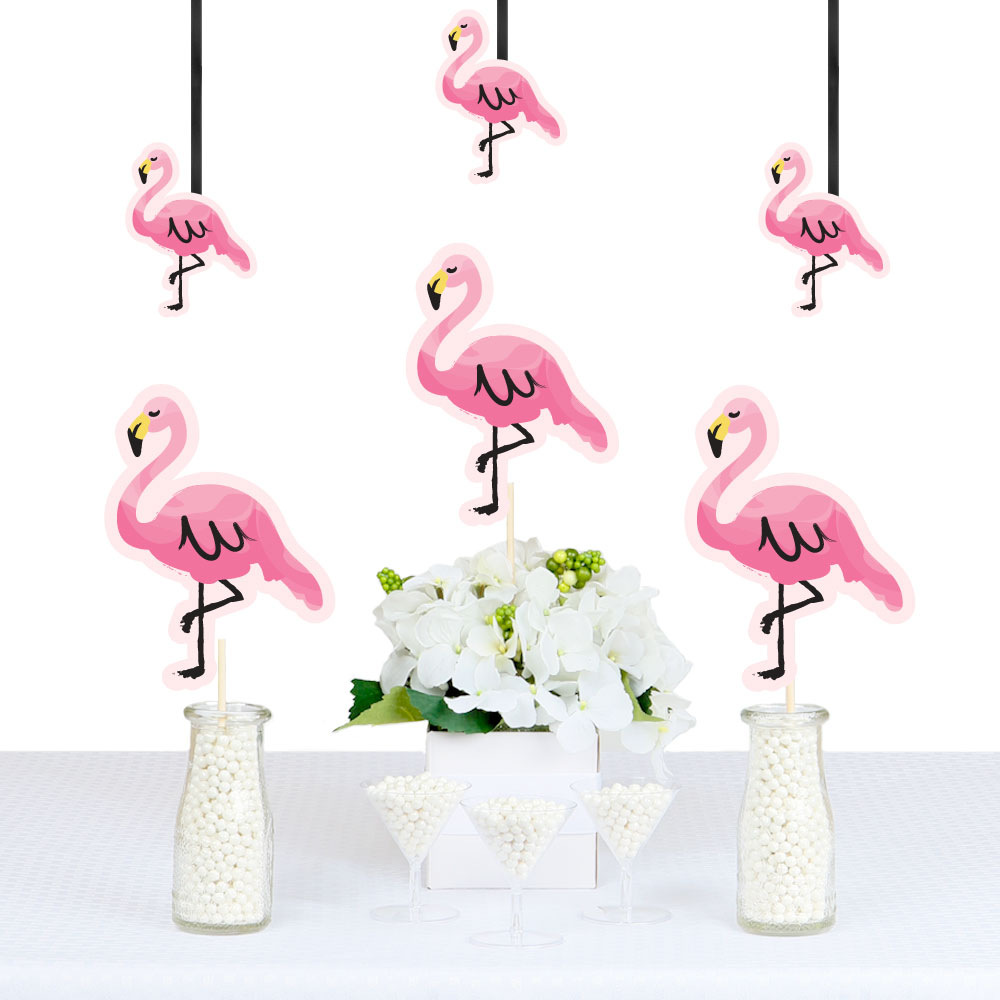Flamingo - Party Like a Pineapple - Decorations DIY Party Essentials - Set of 20