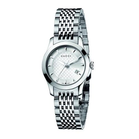 8186e2a7ad4 Gucci - Gucci Women s YA126501  Classic G Timeless  Stainless Steel ...