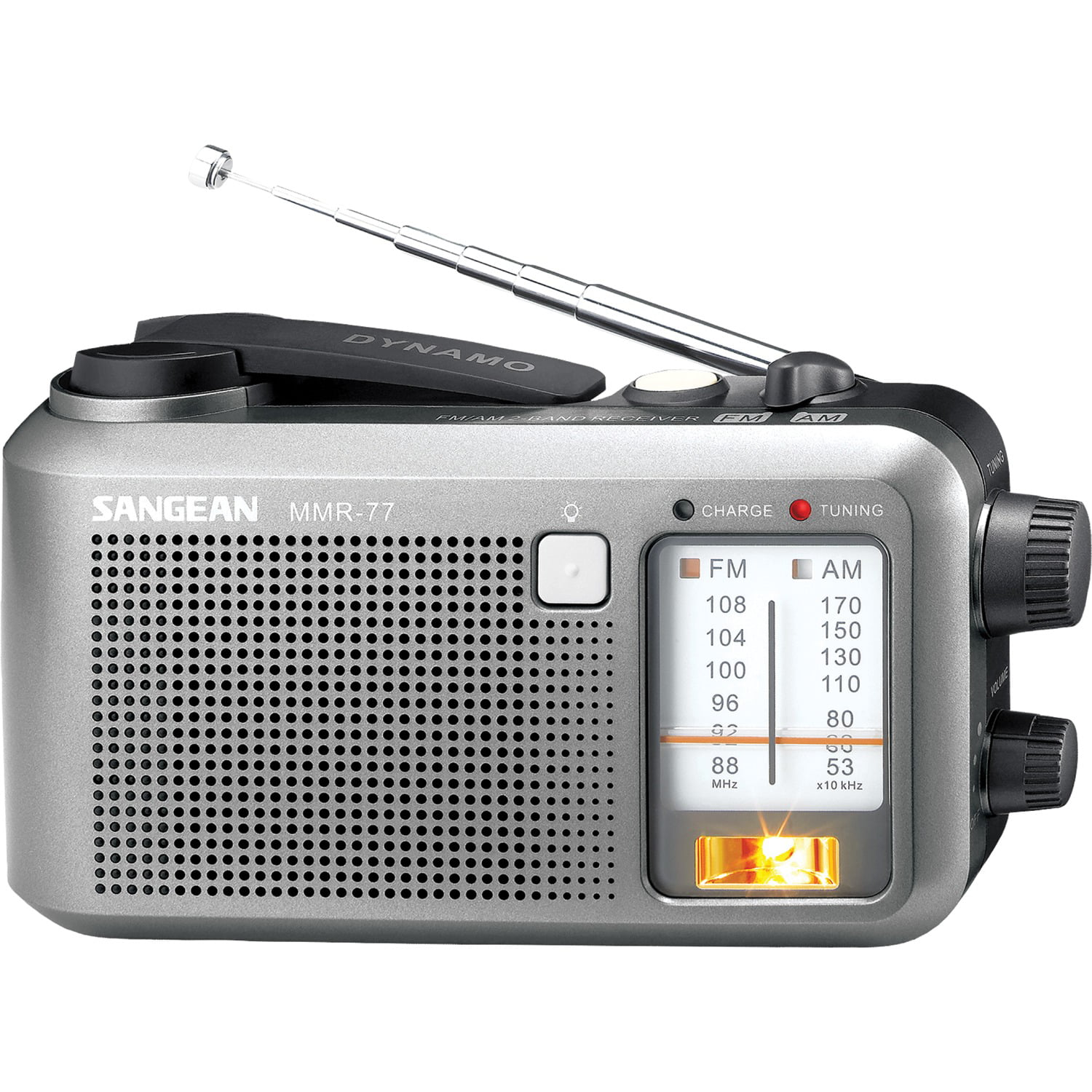 Sangean AM FM Emergency Crank Radio by Sangean